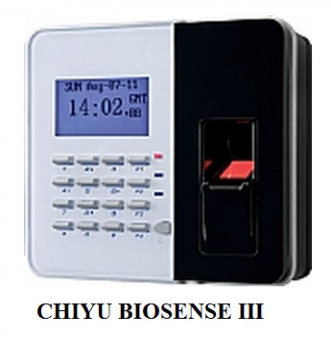 CHIYU BIO SENSE-III Đầu đọc vân tay, thẻ