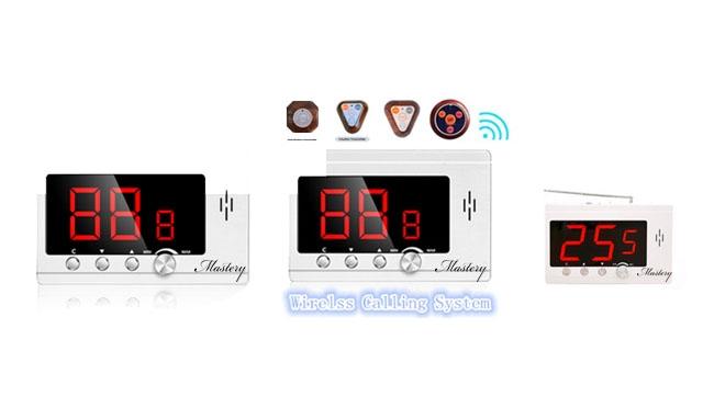 MASTERY MAS-CS10 WIRELESS SERVICE CALLING  SYSTEM