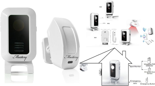 MASTERY MAS-DB15 AUTOMATIC WELCOME DOORBELL
