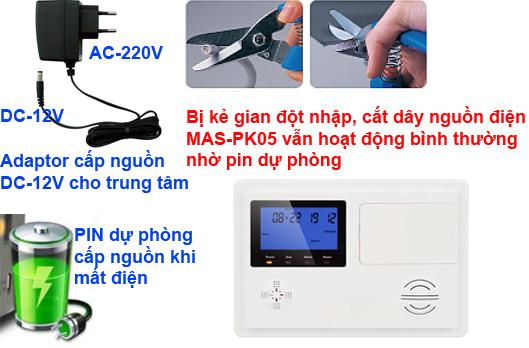 MAS-PK05 MASTERY PIN DU PHONG
